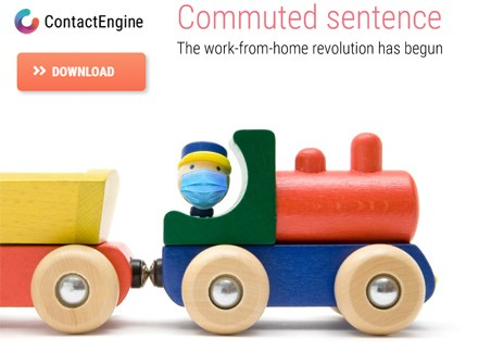 Cover of whitepaper Commuted Sentence: Work From Home Revolution Benefits and Opportunities